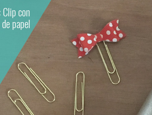 paper clip bow